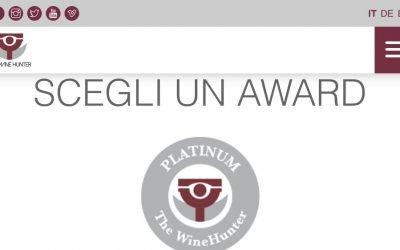 THE WINEHUNTER AWARD: PRIMI PASSI PER MERANO WINE FESTIVAL