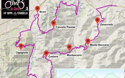 THE TOUR OF ITALY RETURNS TO THE OLTREPÒ PAVESE